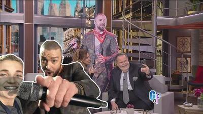 Nada tienen que envidiarle Raúl, Tanya y Lili al 'selfie kid' por la foto con Justin Timberlake