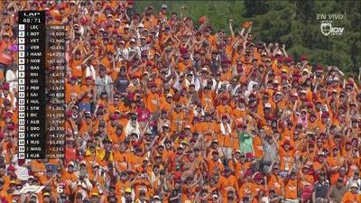 La 'marea naranja' se hace presente en el GP de Austria