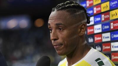 Un héroe: Neil Danns le dio el primer empate a Guyana y anotó los tres goles del equipo en la Copa Oro 2019