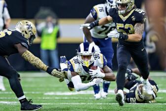¿Rams o Saints al Super Bowl por la NFC? Será su segundo choque esta campaña
