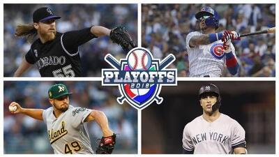 Arrancan los Playoffs de las Grandes Ligas