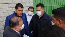 Detienen al Presidente de la Federación de Futbol de Bolivia mientras veía a su Selección