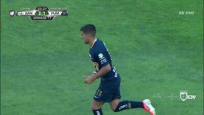 ¡GOOOL! Felipe Mora anota para Pumas UNAM