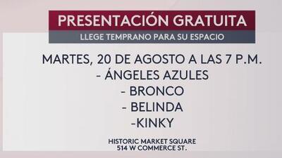 Los mejores artistas este 20 de agosto en esta grabación especial de Univision 41