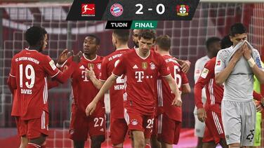 Bayern vence al Leverkusen y aumenta su ventaja en la cima