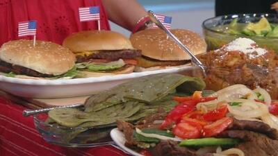 Carne asada, hamburguesas y otras recetas para deleitar a tus invitados este 4 de julio