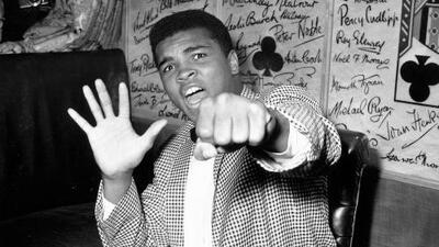 Trump quiere otorgar un perdón póstumo a Mohamed Ali, aunque el boxeador no necesita indulto