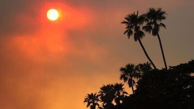 Calor y nulas probabilidades de lluvias para este jueves en Los Ángeles