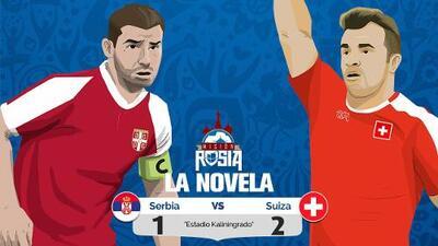 La 'Novela' del Suiza vs Serbia: con gol de último minuto, los suizos ganan y se acercan a octavos