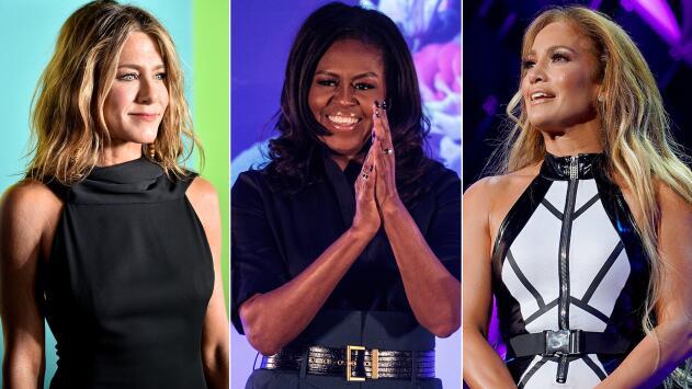 Las portadas de JLo, Michelle Obama y Jennifer Aniston al ser nombradas las 'Personas del año' de People