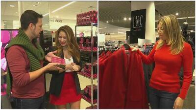 Diviértete con Fernanda Kelly y Luis Sandoval comprando regalos para 'Secret Santa'