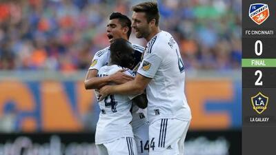 LA Galaxy liquida en tres minutos al FC Cincinnati en el regreso de Zlatan Ibrahimovic