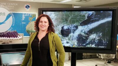 La puertorriqueña que no teme a los huracanes