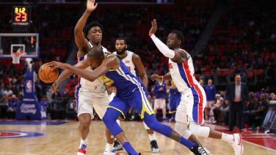 Los Warriors superan a los Pistons y amplían racha triunfal