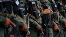 Disidentes de las FARC liberan a ocho militares venezolanos que mantuvieron secuestrados durante 39 días
