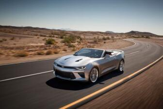 Imágenes del Chevrolet Camaro Convertible 201