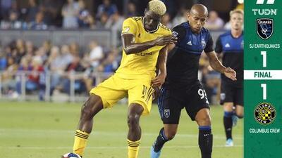 SJ Earthquakes supera al LA Galaxy en la tabla de posiciones pese a empate en casa