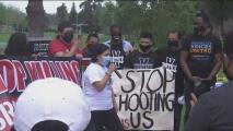 Activistas y miembros de la comunidad alzan sus voces para pedir justicia en el caso de Isaías Cervantes