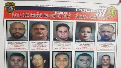 Arrestan a uno de los 10 más buscados de Arecibo