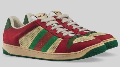 Lucen como si fueran viejas y sucias, pero estas zapatillas cuestan hasta 930 dólares