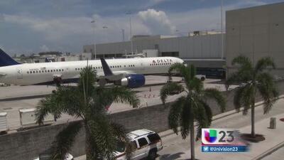 Aeropuertos de Miami y Fort Lauderdale suspenden vuelos