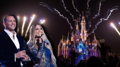 No puede estar más feliz: JLo cerró el año en Disneyland en familia (incluido A-Rod)
