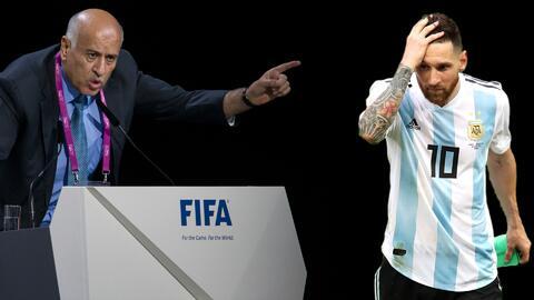Presidente de la Federación Palestina queda suspendido por incitar odio hacia Messi