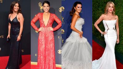 Estos son los looks de las famosas hispanas que han deslumbrado en la alfombra roja del Emmy