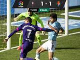 Néstor Araujo se lesiona en el empate del Celta contra Valladolid