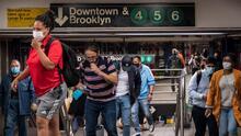 """""""Es bastante bueno"""": la conclusión de un estudio sobre el nivel de limpieza y desinfección en el metro de Nueva York"""