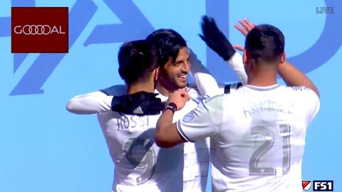 Carlos Vela muerde la 'Gran Manzana' al anotar un doblete y darle el empate a LAFC