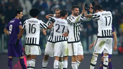 Juventus 3-1 Fiorentina:  Juventus remonta y ya es cuarto en la Serie A