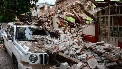 Una estela de muerte y destrucción dejó un sismo en México