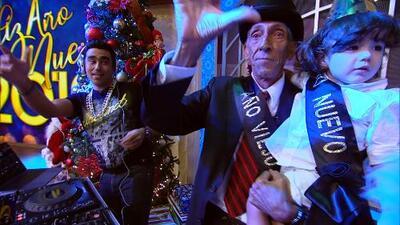 Con el tradicional conteo y el recibimiento del año viejo al nuevo, Despierta América se viste de fiesta