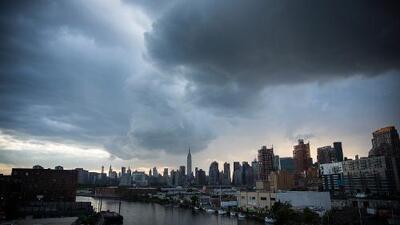 Nueva York comienza la semana con frío y cielo nublado