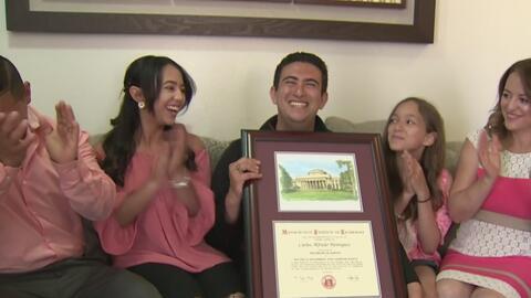 Una familia de inmigrantes que luchó estudiando para lograr su sueño americano