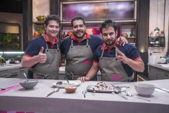 """Los Gudiño y su """"delicada"""" manera de entregarse en la cocina de Familias Frente al Fuego"""