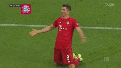 Robert Lewandowski sella la goleada del Bayern Munich con hat-trick