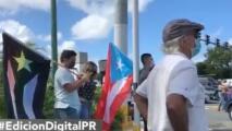 Manifestantes repudian irregularidades en la CEE