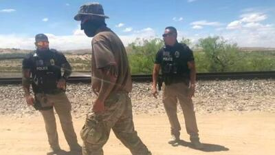 Así es el campamento de la milicia que patrulla la frontera de Nuevo México, detiene a migrantes contra su voluntad y lo transmite en redes sociales
