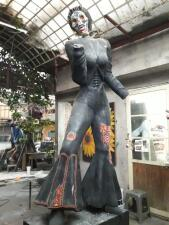 En fotos: Así fue la creación de la estatua de 10 pies de Selena que se exhibirá en el River Walk