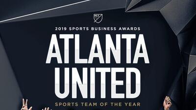 Atlanta United y el Comisionado de la MLS ganadores en los prestigiosos 'Sports Business Awards'