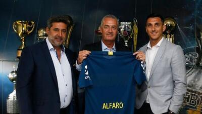 Gustavo Alfaro asumió la dirección técnica de Boca Juniors