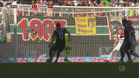 ¡Espectacular! James le da la vuelta al marcador con jugadon del Bayern