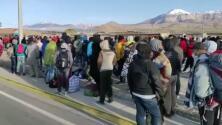 Aumentan preocupantemente las muertes por coronavirus entre migrantes que tratan de cruzar la frontera chilena