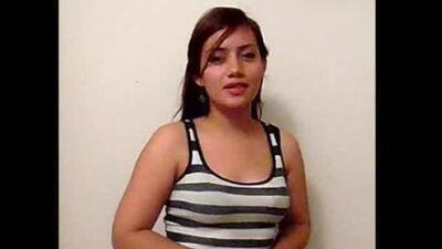 Andrea García de México, participante Casting Virtual 2015