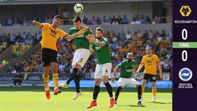 ¡Los goles se fueron de vacaciones! Wolverhampton y Jiménez no pudieron ganar