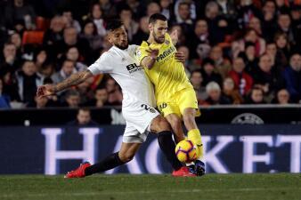 En fotos: ¿Necesitan a Chicharito? Valencia aplasta al Villarreal que se sigue hundiendo