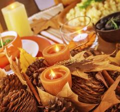 Crear un ambiente cálido en tu casa para 'Thanksgiving'