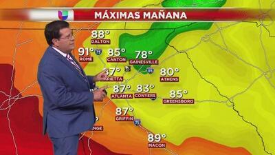 El calor dará tregua este miércoles y pronostican pocas probabilidades de lluvia